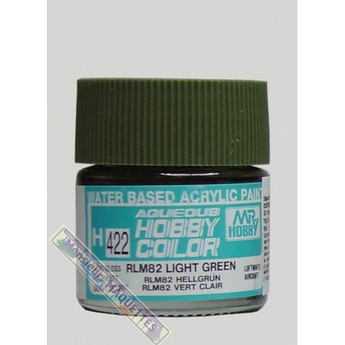 Peinture acrylique h422 vert olive clair satine 10ml h422 gunze - Peinture vert olive ...