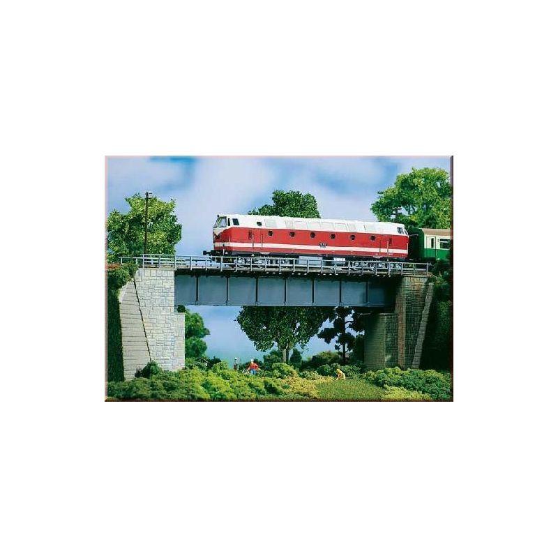 pont m tallique tablier plein ah11341 auhagen. Black Bedroom Furniture Sets. Home Design Ideas