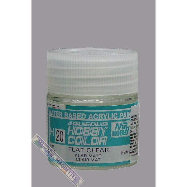 Vernis mat pour peinture acrylique h20 10ml h020 gunze sangyo - Vernis sur peinture acrylique ...