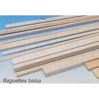 BALSA CARRE 4X4MM X 1M