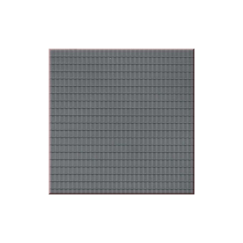 Plaque de toit en tuiles ondulees grises ah52426 auhagen - Toit en plaque fausse tuile ...