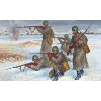 INFANTERIE SOVIETIQUE EN TENUE D'HIVERS (1941-1945)