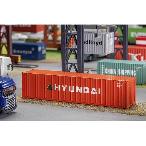 Container Hyundai 40 Pieds Monsieur Maquettes