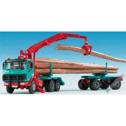 Camion De Transport De Bois 12201 Kibri  Monsieur Maquettes ~ Camion Transport De Bois
