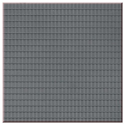 plaque de toit en tuiles ondulees grises 52426 auhagen. Black Bedroom Furniture Sets. Home Design Ideas