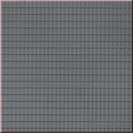plaque de toit en tuiles ondulees grises ah52426 auhagen. Black Bedroom Furniture Sets. Home Design Ideas