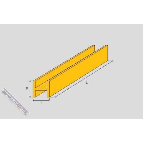 profile laiton en h 4x4 mm bml104 baronmodels. Black Bedroom Furniture Sets. Home Design Ideas