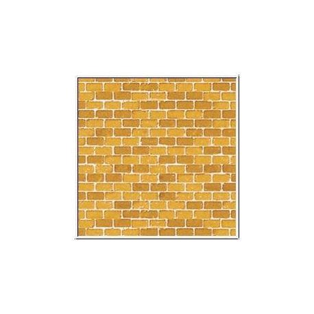 plaque de mur en briques jaune ah50510 auhagen. Black Bedroom Furniture Sets. Home Design Ideas