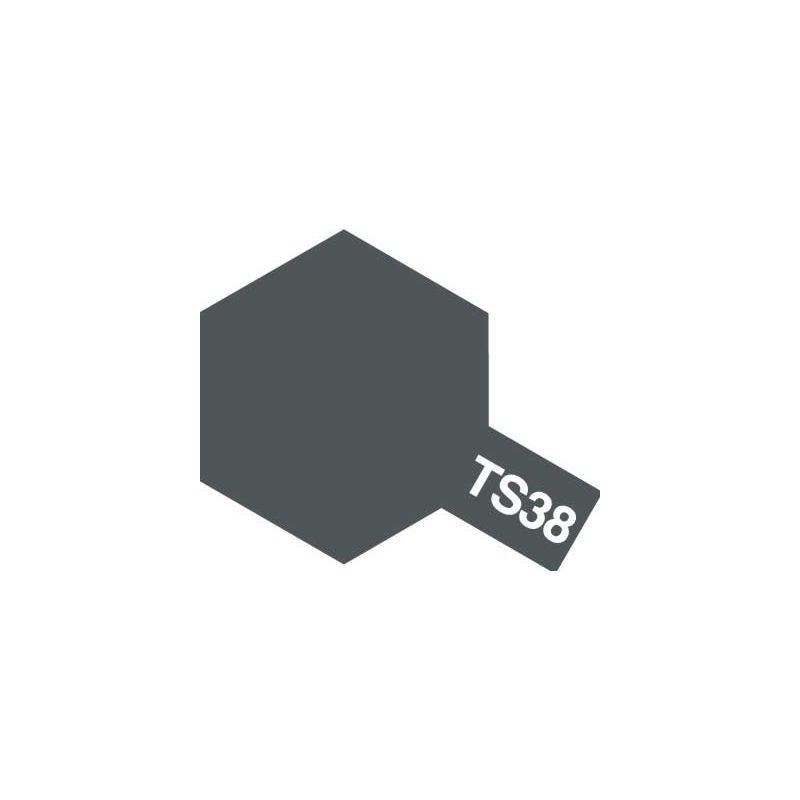 peinture aerosol gris metal ts 38 100ml ta85038 tamiya. Black Bedroom Furniture Sets. Home Design Ideas