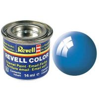 Peinture bleu clair brillant N°50