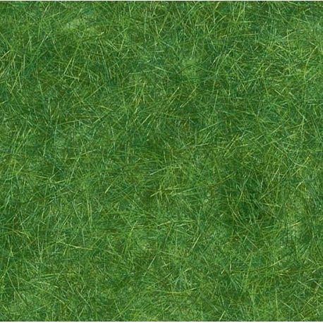 Herbe flocage fibre vert foncé