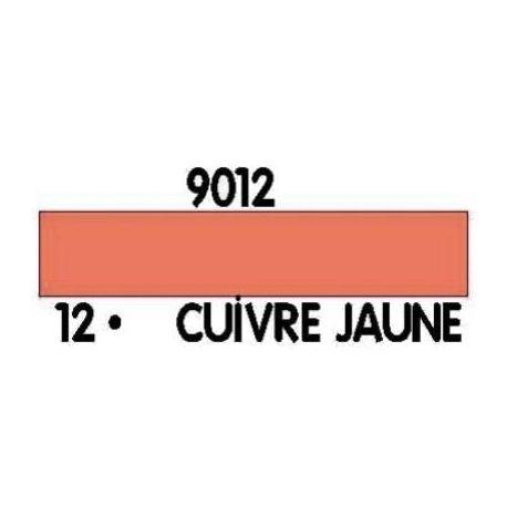 PEINTURE ACRYLIQUE CUIVRE JAUNE N°12 (12ML)