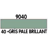 PEINTURE ACRYLIQUE GRIS PALE N°40 (12ML)