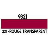 PEINTURE ACRYLIQUE ROUGE TRANSPARENT N°321 (12ML)