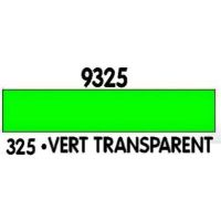 PEINTURE ACRYLIQUE VERT TRANSPARENT N°325 (12ML)