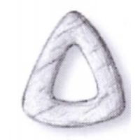 CAP DE MOUTON TRIANGULAIRE 1 TROU 6MM