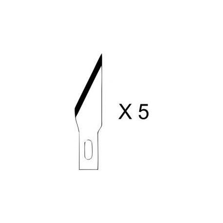 Lames 2 pour cutter N°1 (5 lames)