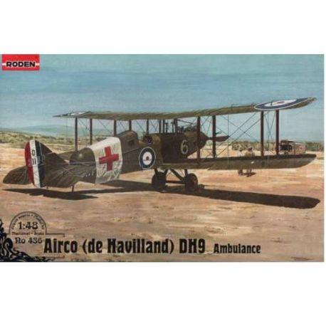 AVION DE HAVILLAND DH9 (AMBULANCE)