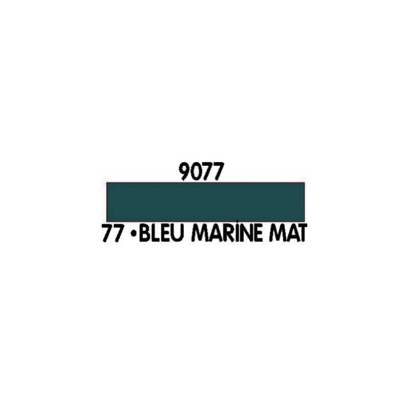 Peinture acrylique bleu marine n 77 12ml he09077 heller for Peinture bleu marine mat