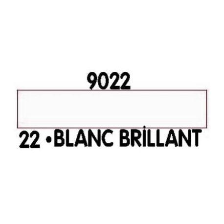 PEINTURE ACRYLIQUE BLANC BRILLANT N°22 (12ML)