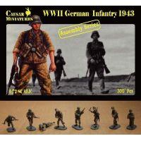 WWII GERMAN INFANTRY 1943