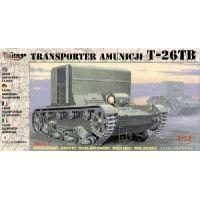 TRANSPORT BLINDE DE MUNITION SOVIETIQUE T-26TB