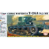 CHAR RUSSE T-26A 76,2MM