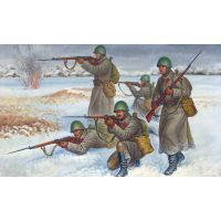 INFANTERIE SOVIETIQUE EN TENUE D'HIVERS (1941-1945)
