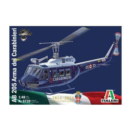 HELICOPTERE AB205 ARME (CARABINIERI)