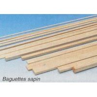 BAGUETTE SAPIN CARRE 2X3 MM X 1M