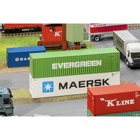 Container 39 Evergreen 39 40 Pieds Fa180846 Faller