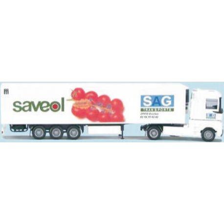 "Camion semi-remorque frigo RENAULT Magnum ""SAVEOL"""