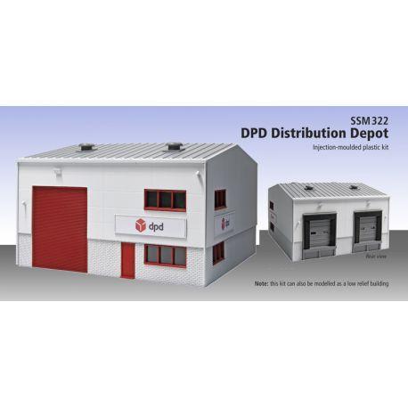 """Bâtiment de stockage """"DPD"""""""