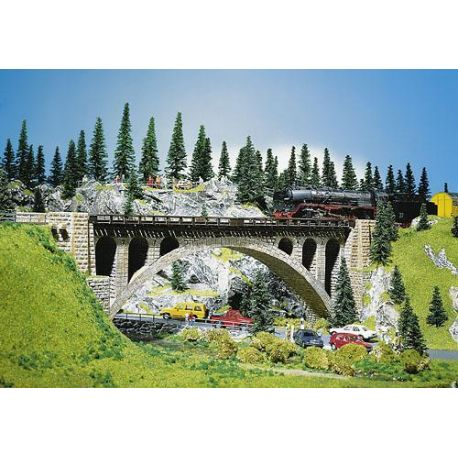 pont en arche en pierre fa120533 faller. Black Bedroom Furniture Sets. Home Design Ideas