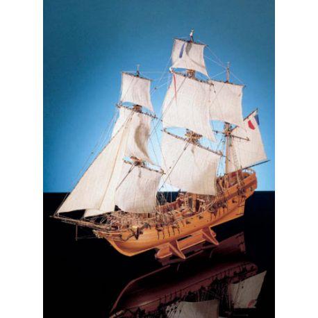 """Navire corsaire le """"TONNANT"""" 1793"""