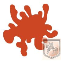 Peinture orange fournaise n°229