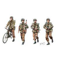 Parachutistes britanniques en action (Set A)