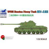 Char soviétique lourd KV-122