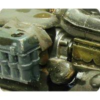 Produit effet salissures du moteur (weathering effects)