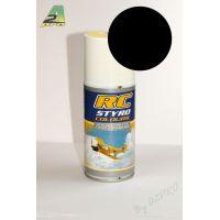 Peinture aérosol RC Styro noire