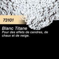 Pigment (terre à décor) blanc titane
