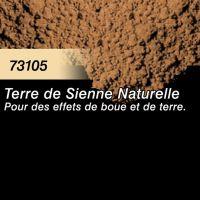 Pigment (terre à décor) terre de sienne naturelle
