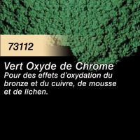 Pigment (terre à décor) vert oxyde de chrome