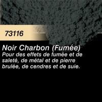 Pigment (terre à décor) noir charbon (fumée)