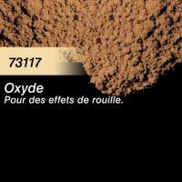 Pigment (terre à décor) oxyde (rouille)