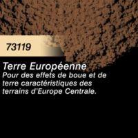Pigment (terre à décor) terre européenne