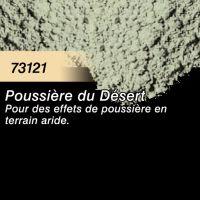 Pigment (terre à décor) poussière du désert