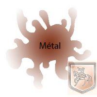 Peinture cuivre métallique P067