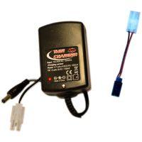 Chargeur pour batteries 4.8 - 8.4 VDC (950mA) TX 9.6VDC 12mA