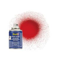 Peinture aérosol rouge vif brillant n°31 (100ml)